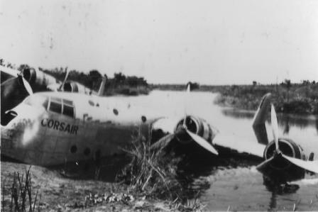 ADVB Corsair crashed