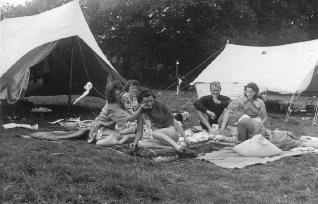 Sisters at 1939 Camp