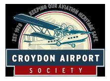 Croydon Airport Society logo