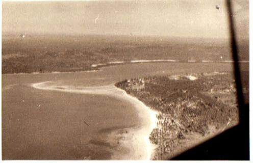 arriving Lindi bay