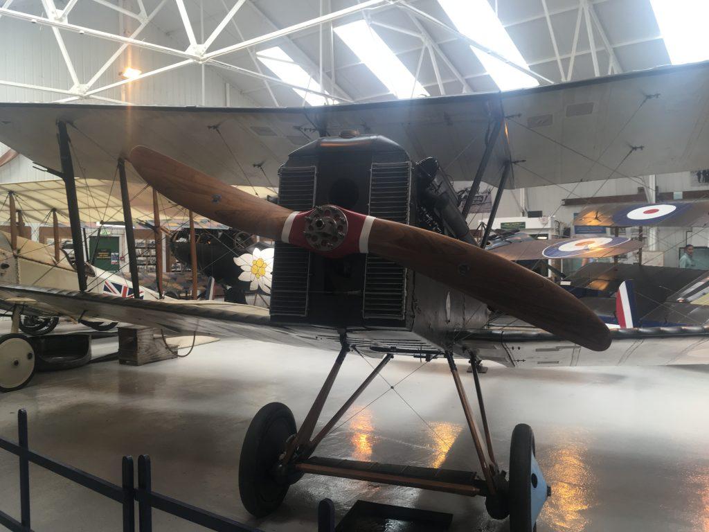 Jimmy McCudden's plane rebuilt